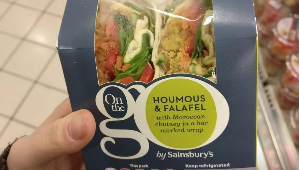 Sainsbury's Vegan Wrap