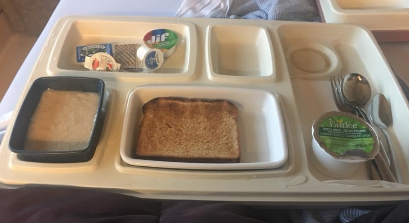 Vegan Hospital Food