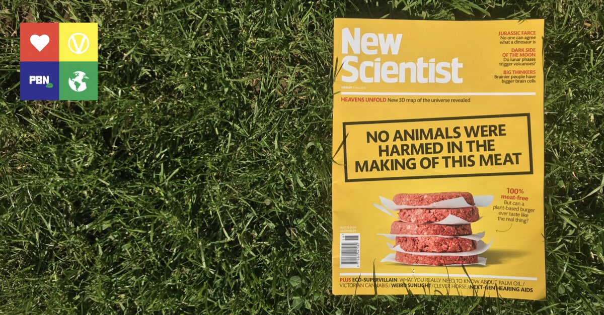 New Scientist Impossible Burger