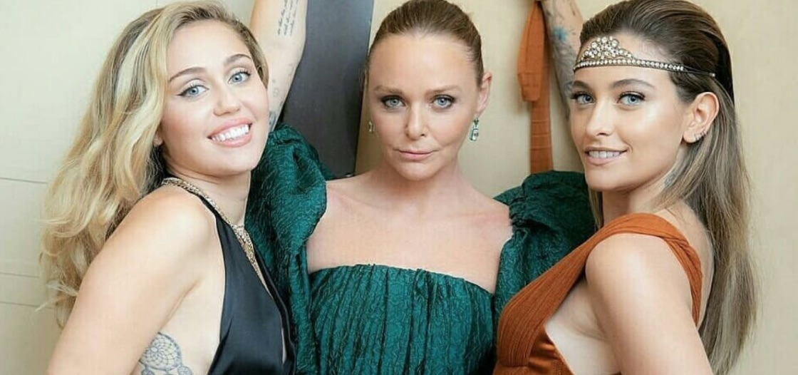 Stella McCartney, Miley Cyrus, Paris Jackson