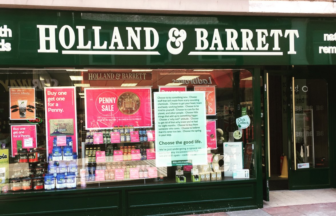 Holland & Barrett Health Food Store