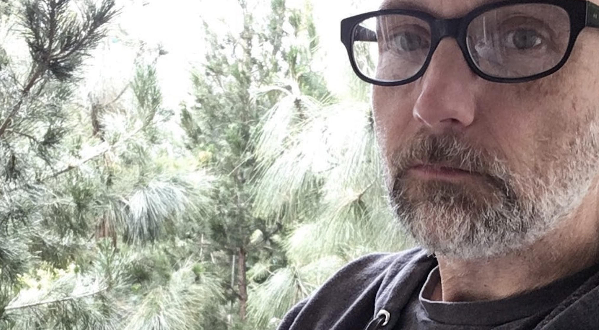 Musician moby at his California home