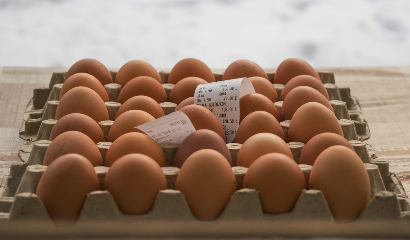 Egg labeling