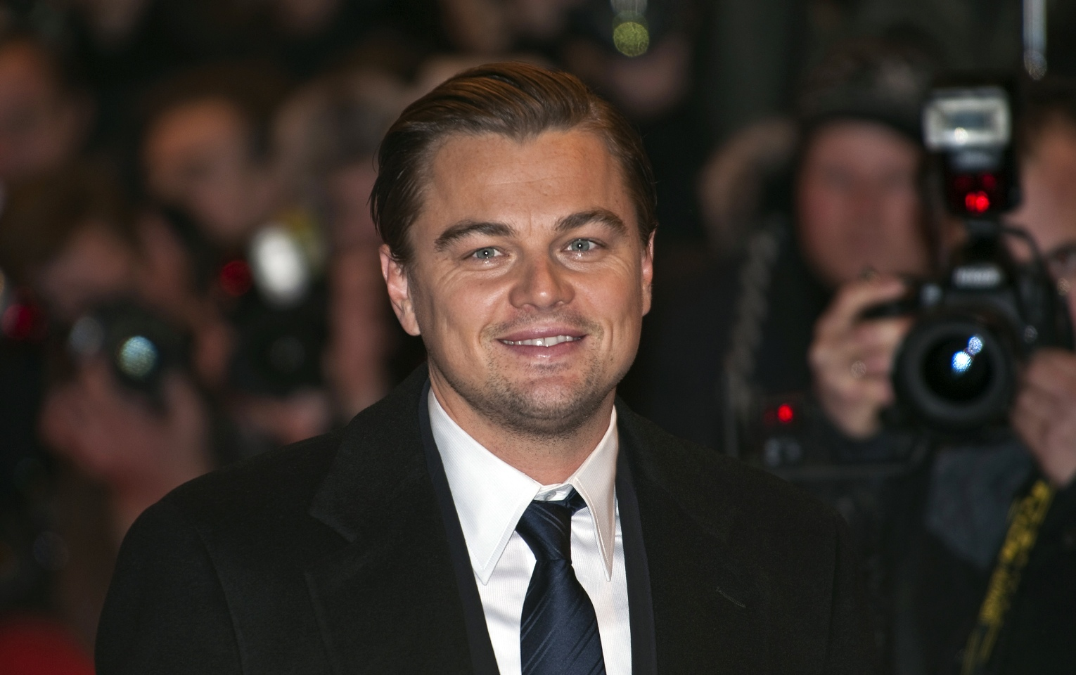 Actor Leonardo DiCaprio at an event