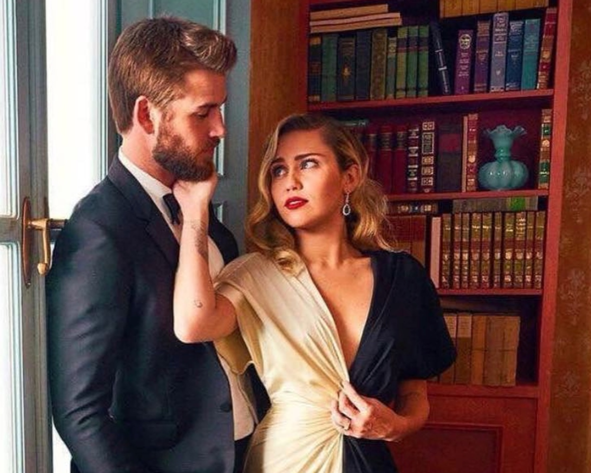 Vegan power couple Miley Cyrus and Liam Hemsworth