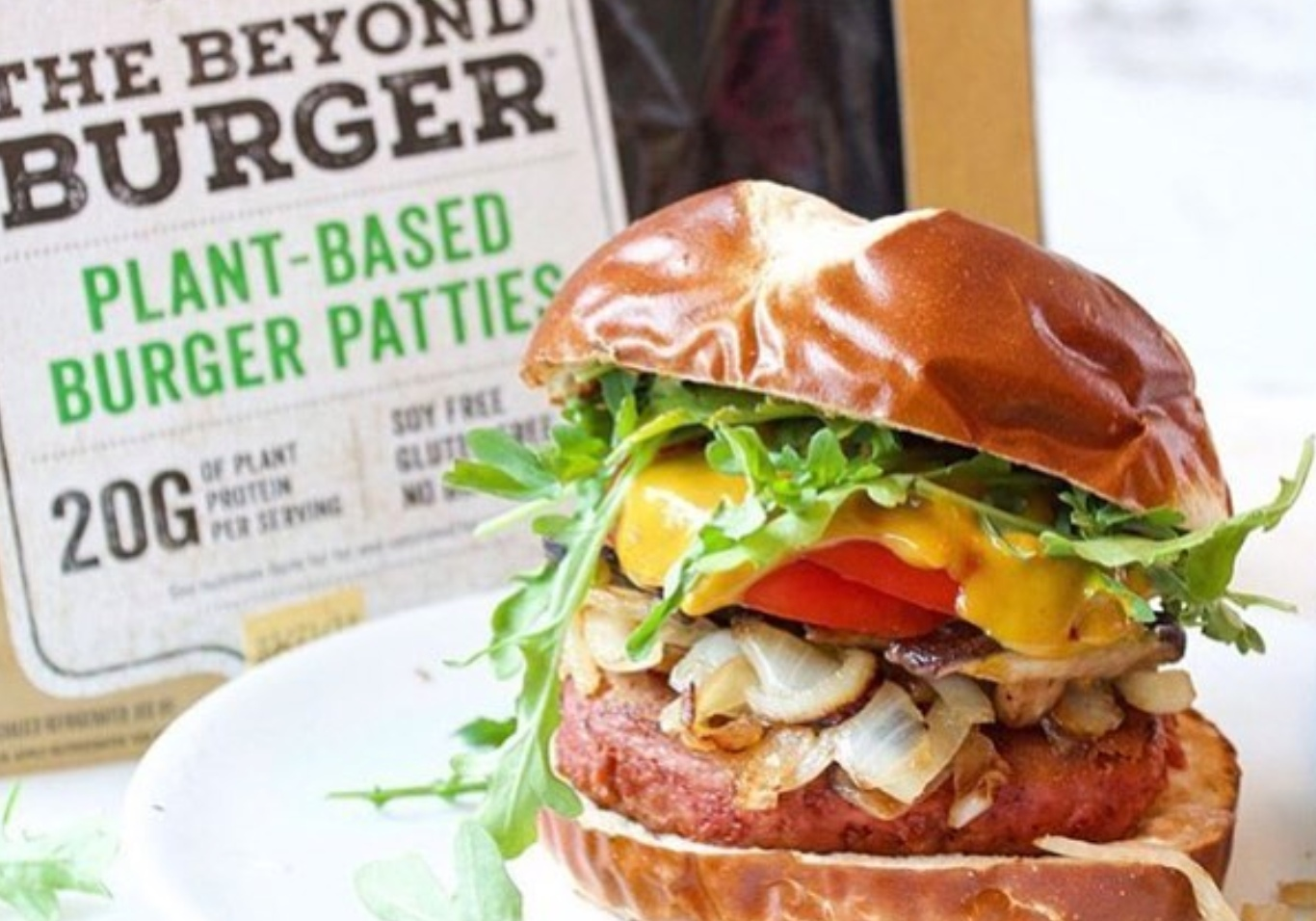 The vegan Beyond Burger