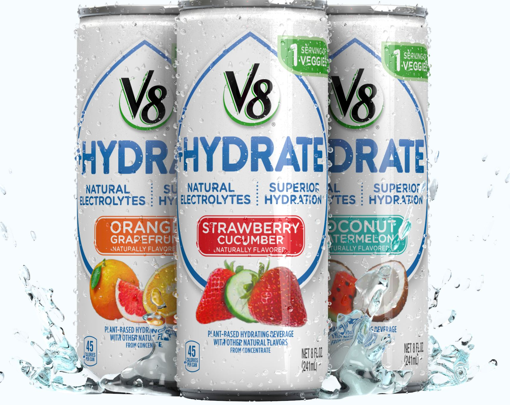 V8 Hydrate drink from Campbells