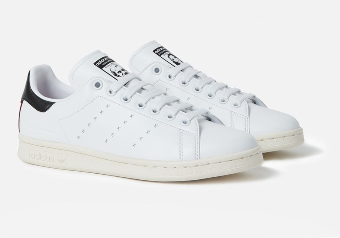 Vegan leather Stan Smith shoes from Adidas and Stella McCartney