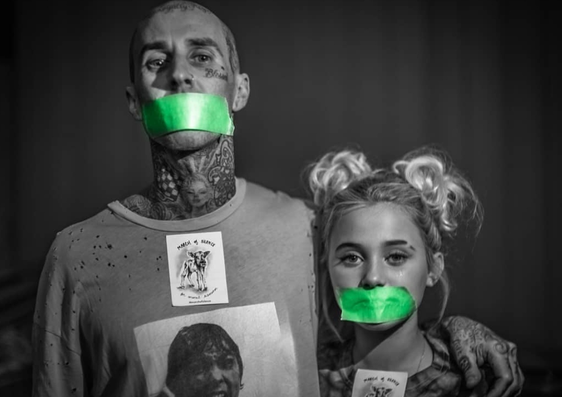 Celebrities And Activists Come Together For Vegan 'March Of Silence'