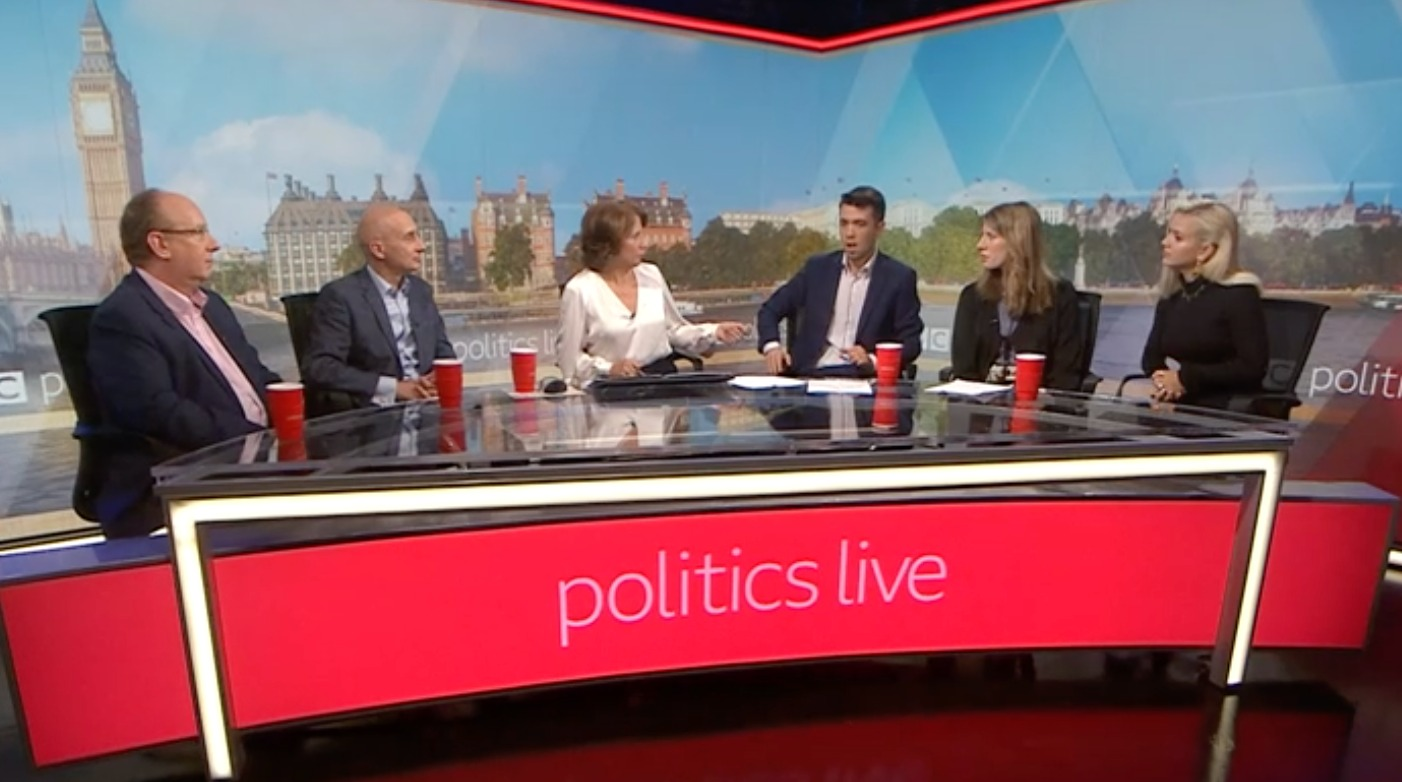 BBC Politics Live Show: 'There Is A Strong Case For Vegan Diet'