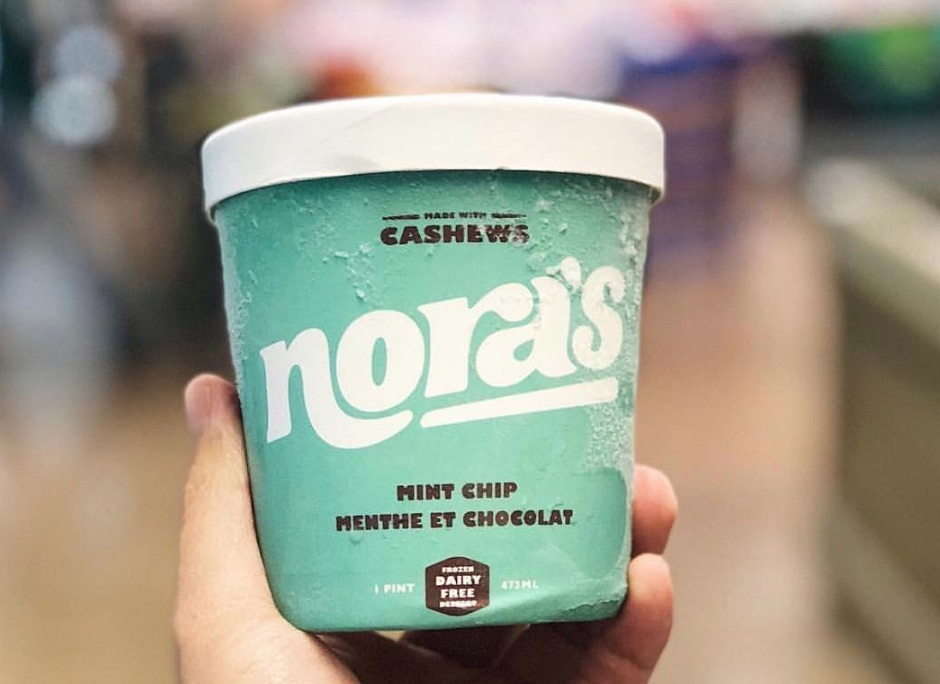 Nora's Mint Chip Ice Cream