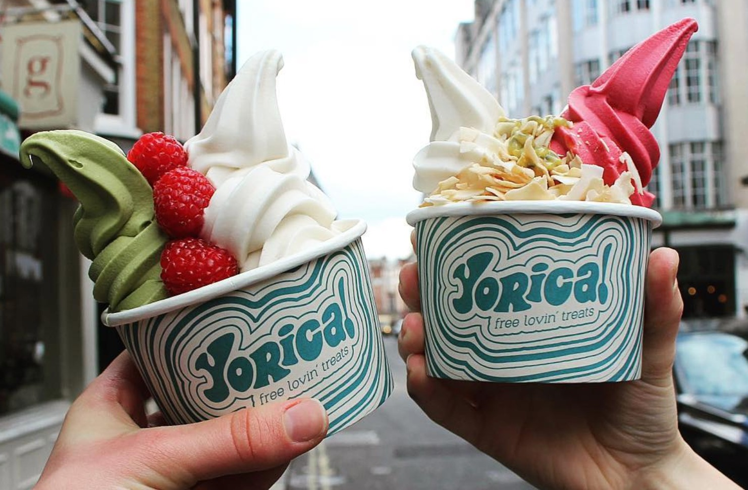 Yorica vegan ice-cream in Soho