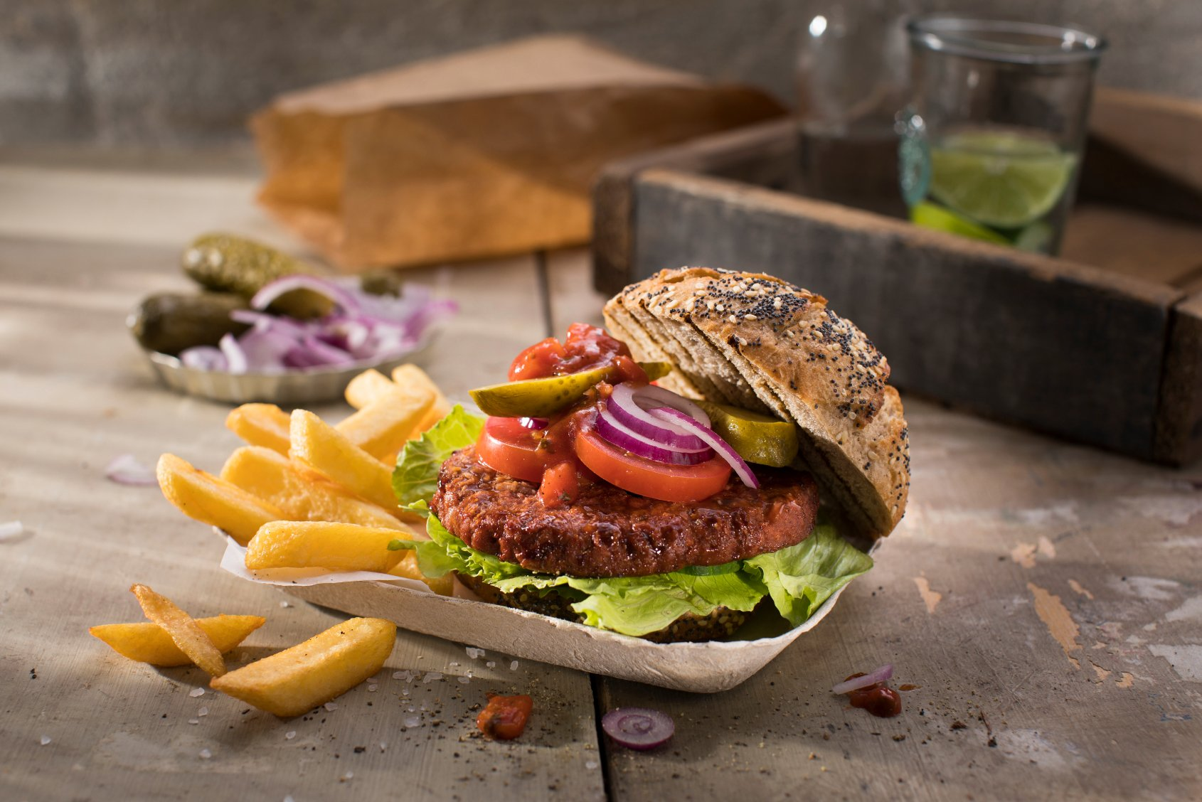 Vivera vegan burger