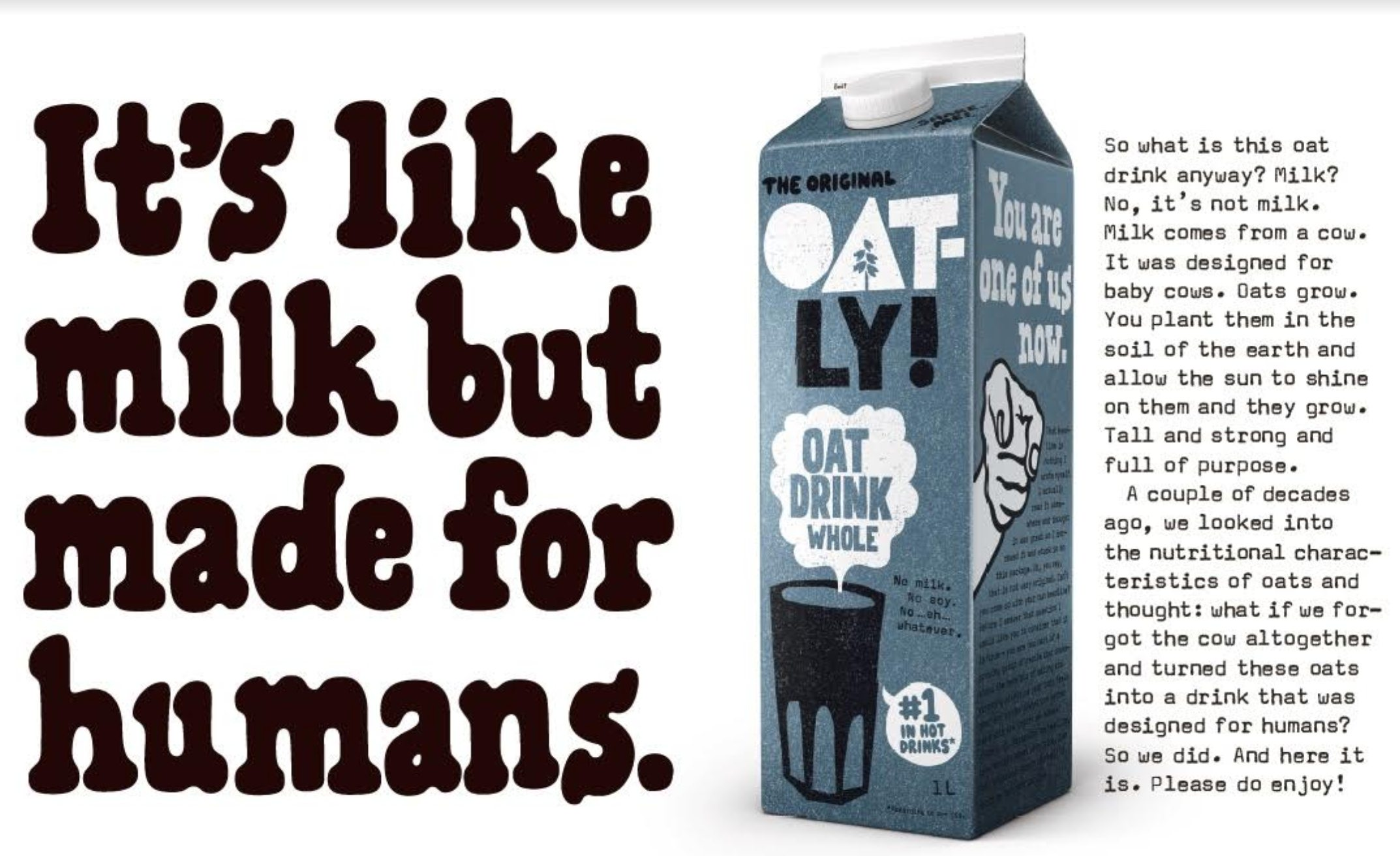 Oatly advert