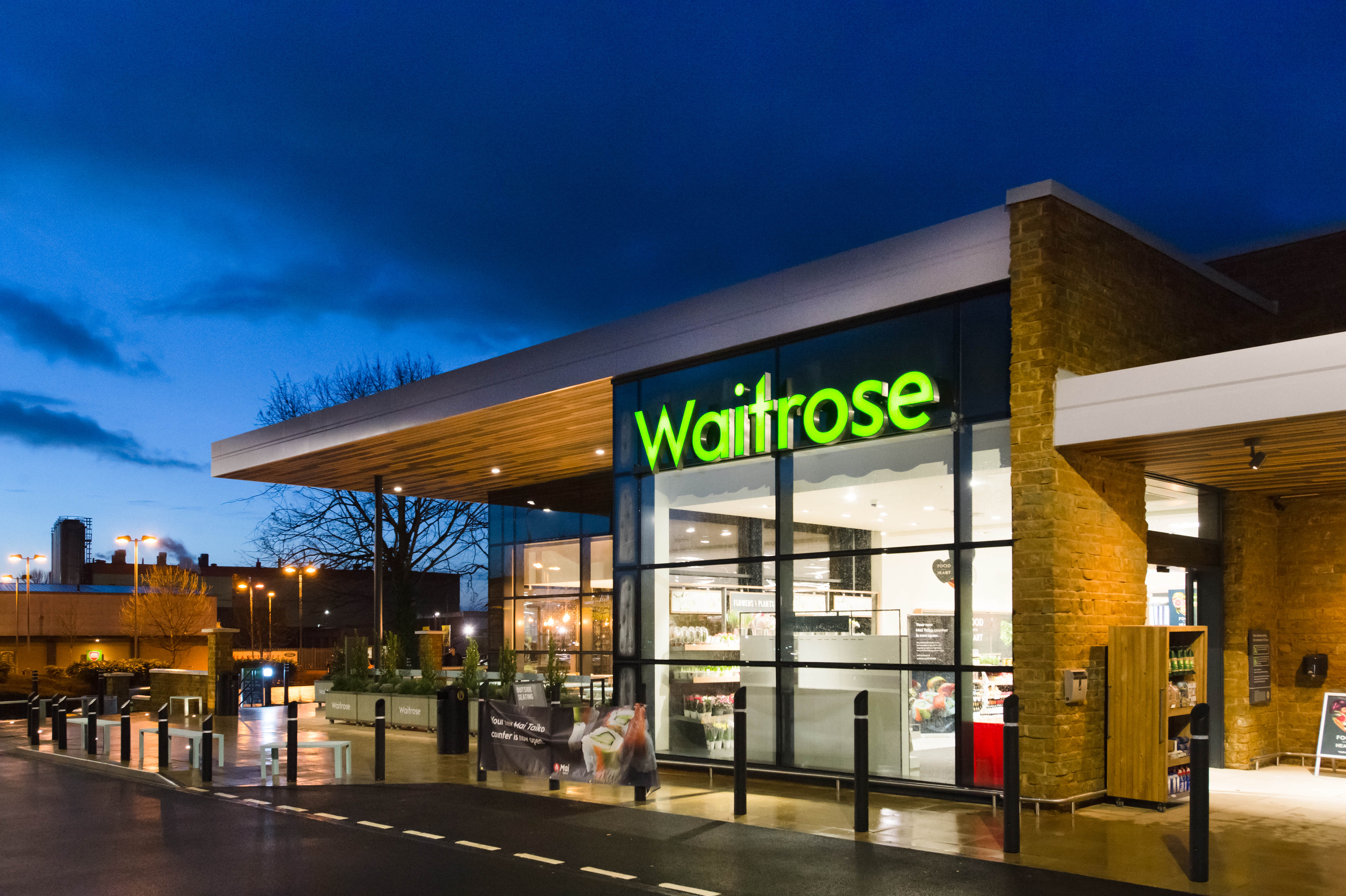 UK supermarket Waitrose