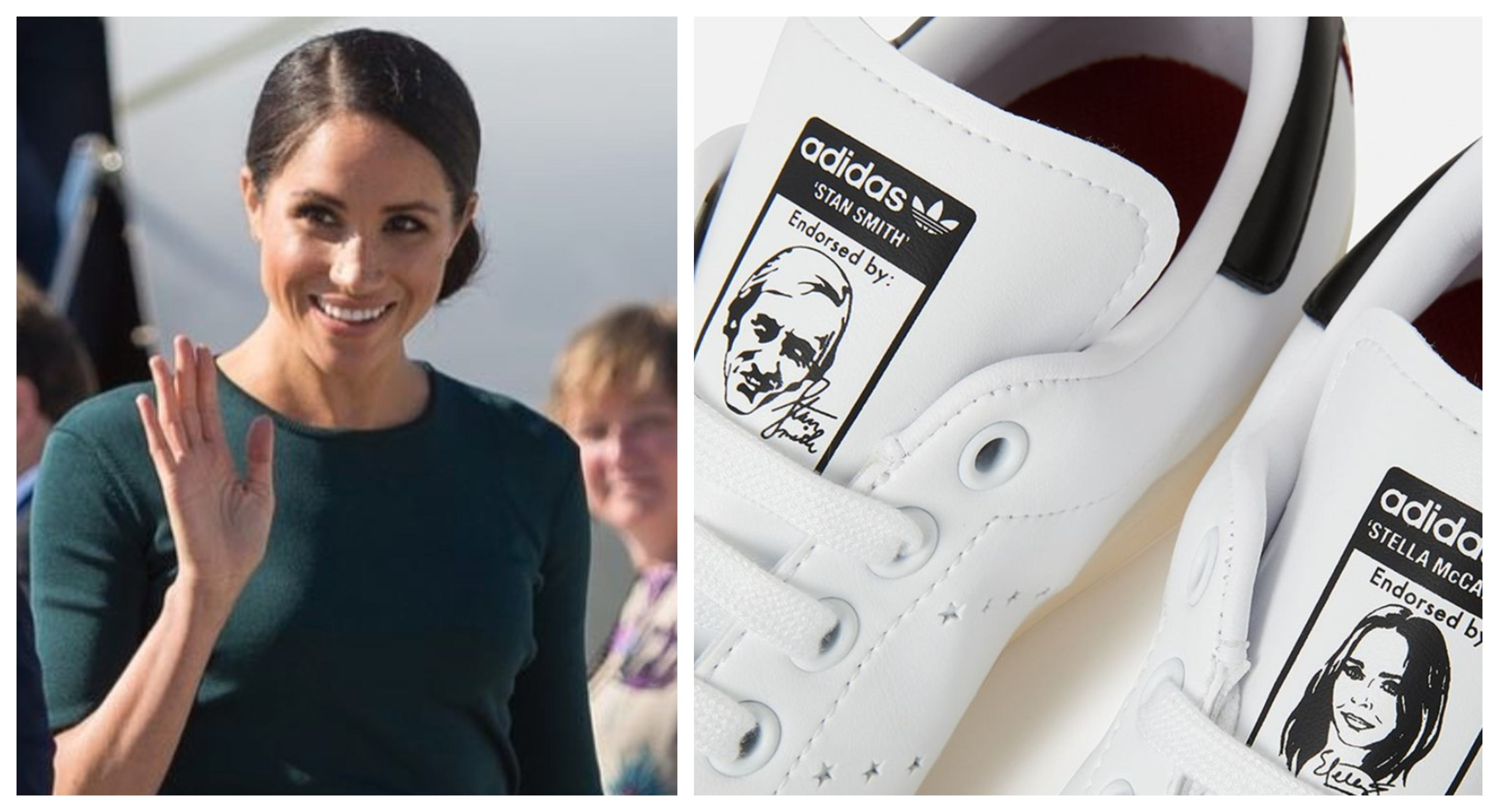 Megan Markle and the Stan Smith trainers