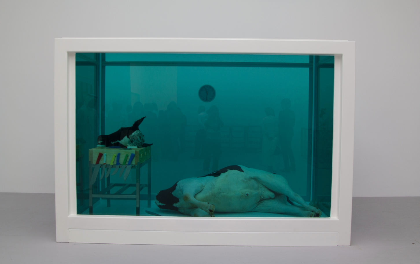 Dead cow by Damien Hirst