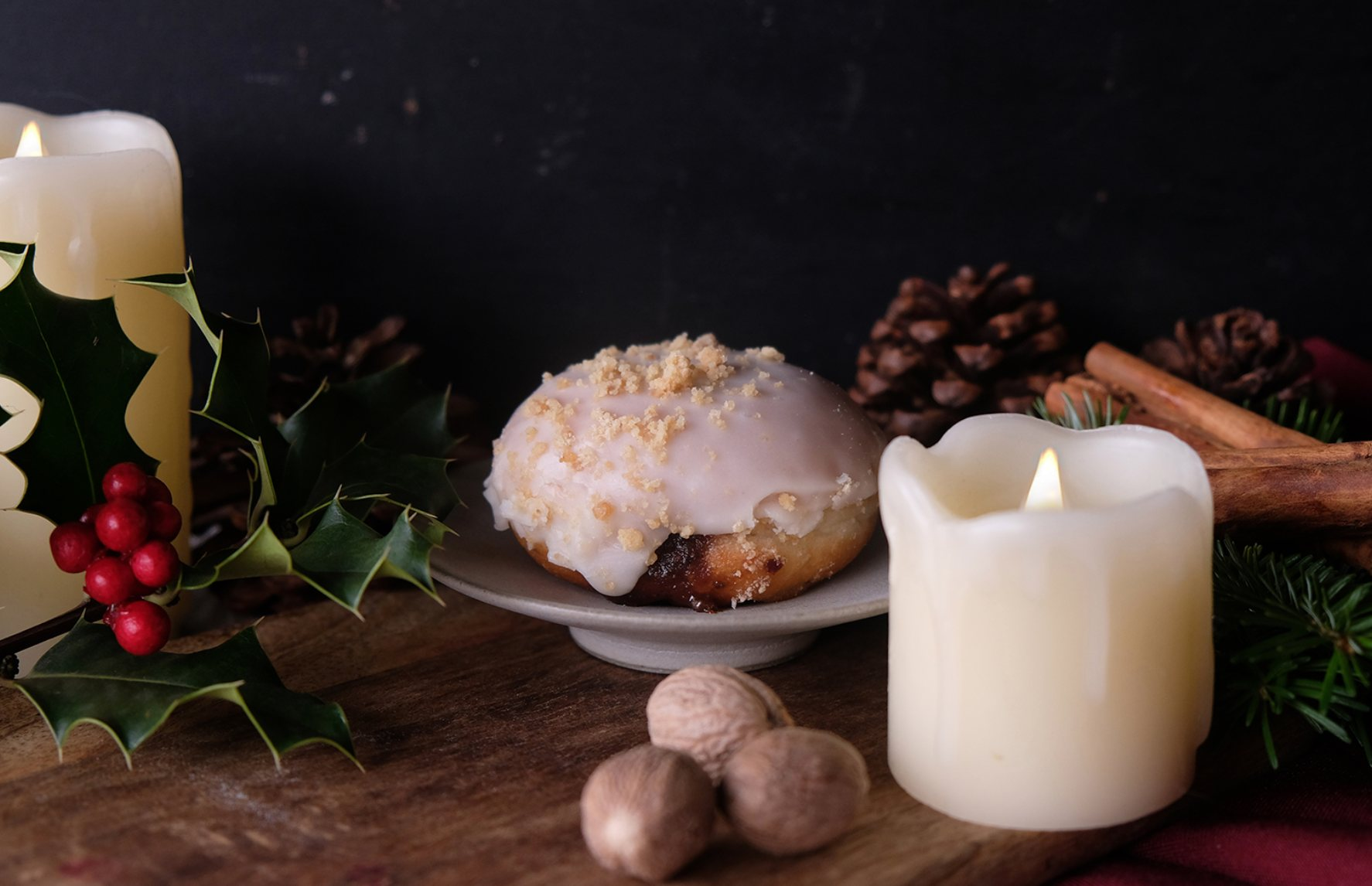 Vegan Christmas Mince Pie Donut To Launch This Month