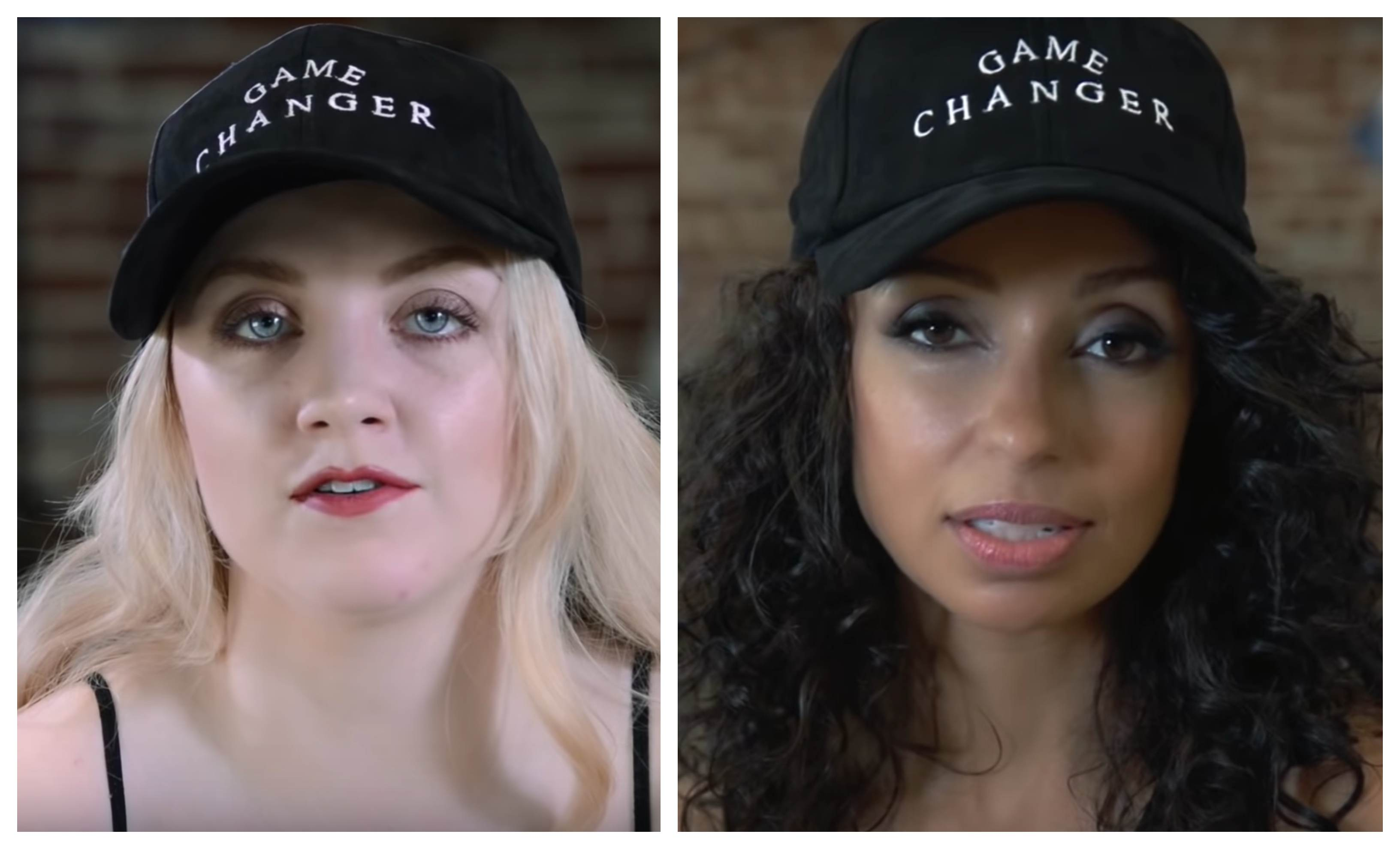 Vegan stars Evanna Lynch and Mya
