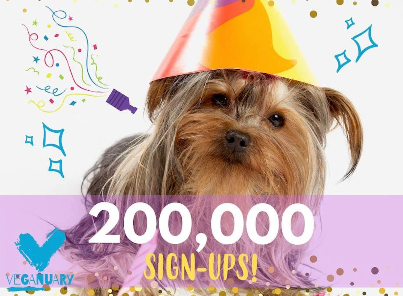 Veganuary hits 200,000 sign-ups