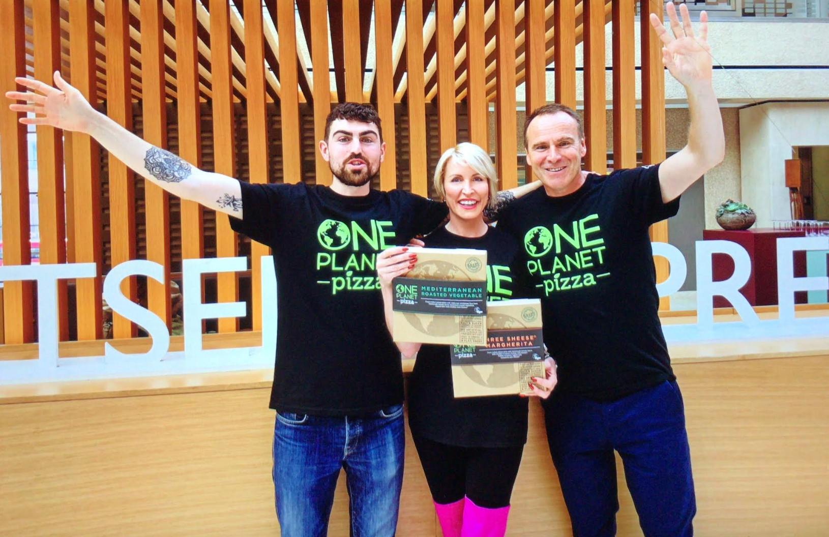 Heather Mills and One Planet Pizza