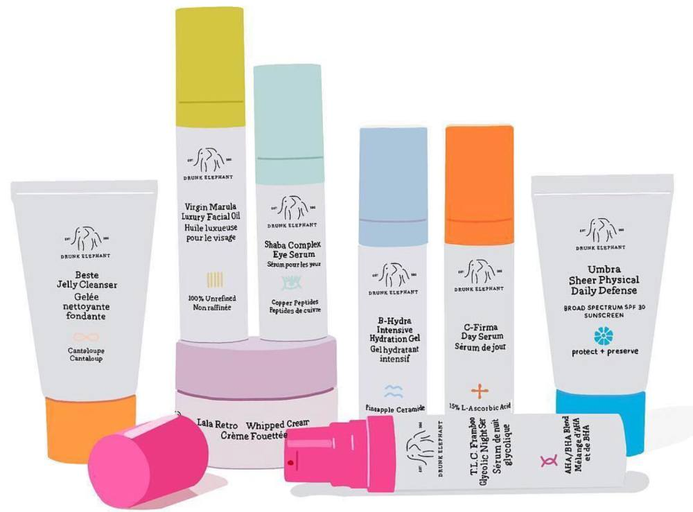 Drunk Elephant products