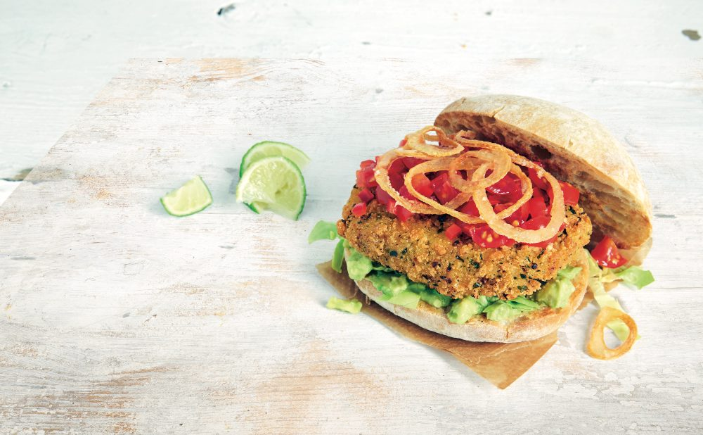 Waitrose's new vegan Jackfruit Burger