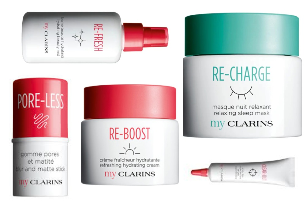 Vegan products from Clarins