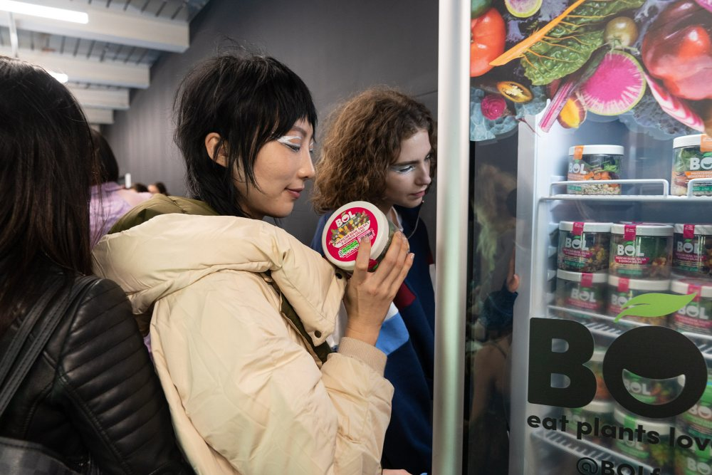 Plant-based BOL at London Fashion Week