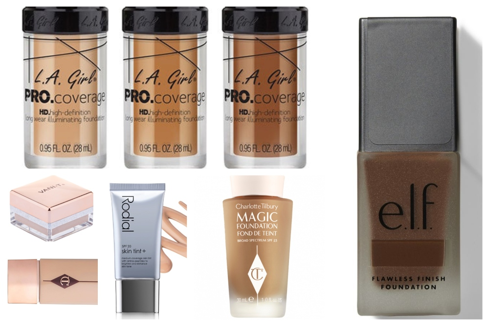 Vegan and cruelty-free foundation