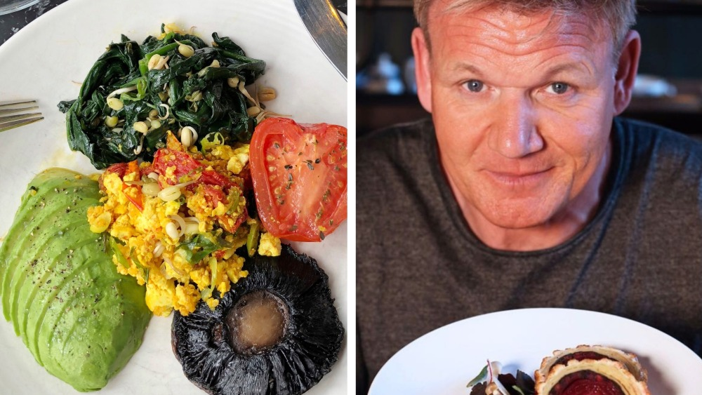 Gordon Ramsay Launches Vegan Breakfast Including Tofu Eggs