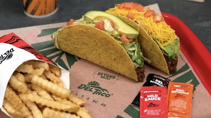 Fast-Food Chain Del Taco To Offer Beyond Meat In All Its US Stores