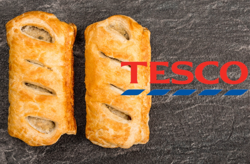 Tesco Launching Ready To Eat Vegan Sausage Roll In Its Bakery, Says Report
