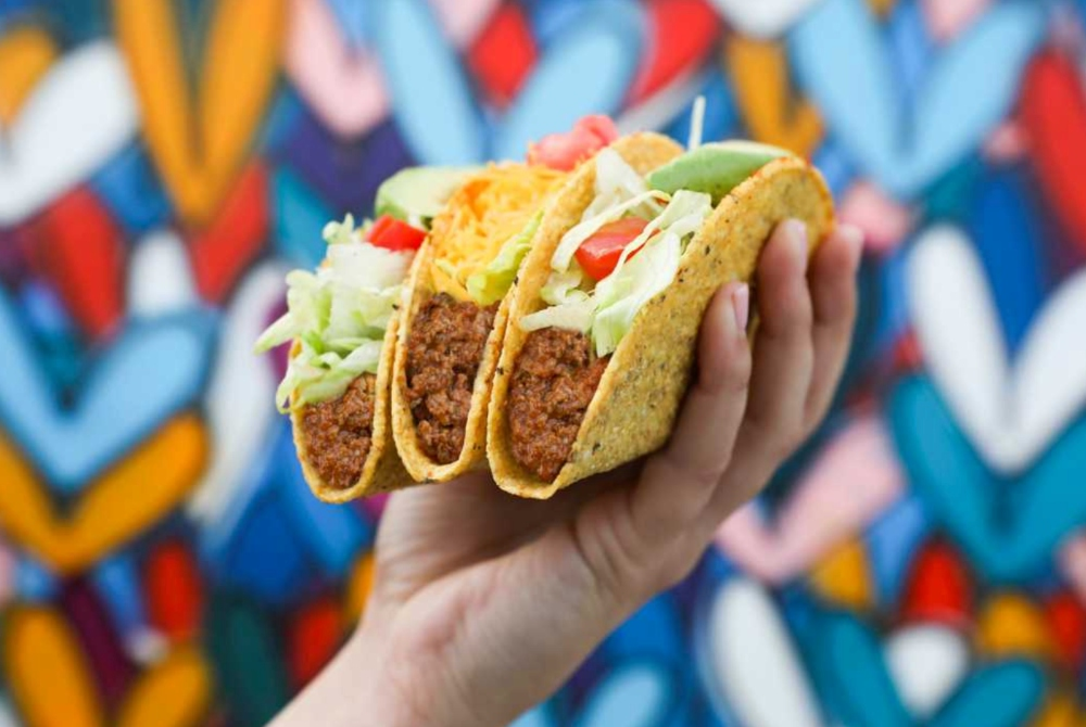 Del Taco's Beyond Meat Vegan Tacos To Launch Next Week