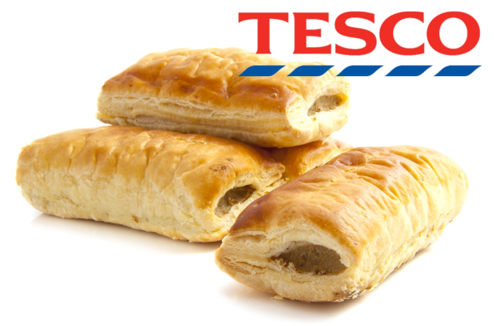 EXCLUSIVE: Tesco Confirms Its 75p Vegan Sausage Roll Launches Next Week