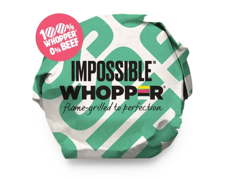 Plant-Based Impossible Whopper Rolls Out To Two More Locations