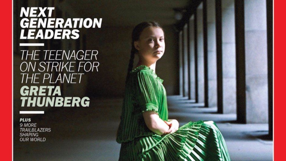 """Greta Thunberg On The Cover Of TIME: """"Now I Am Speaking to the Whole World"""""""