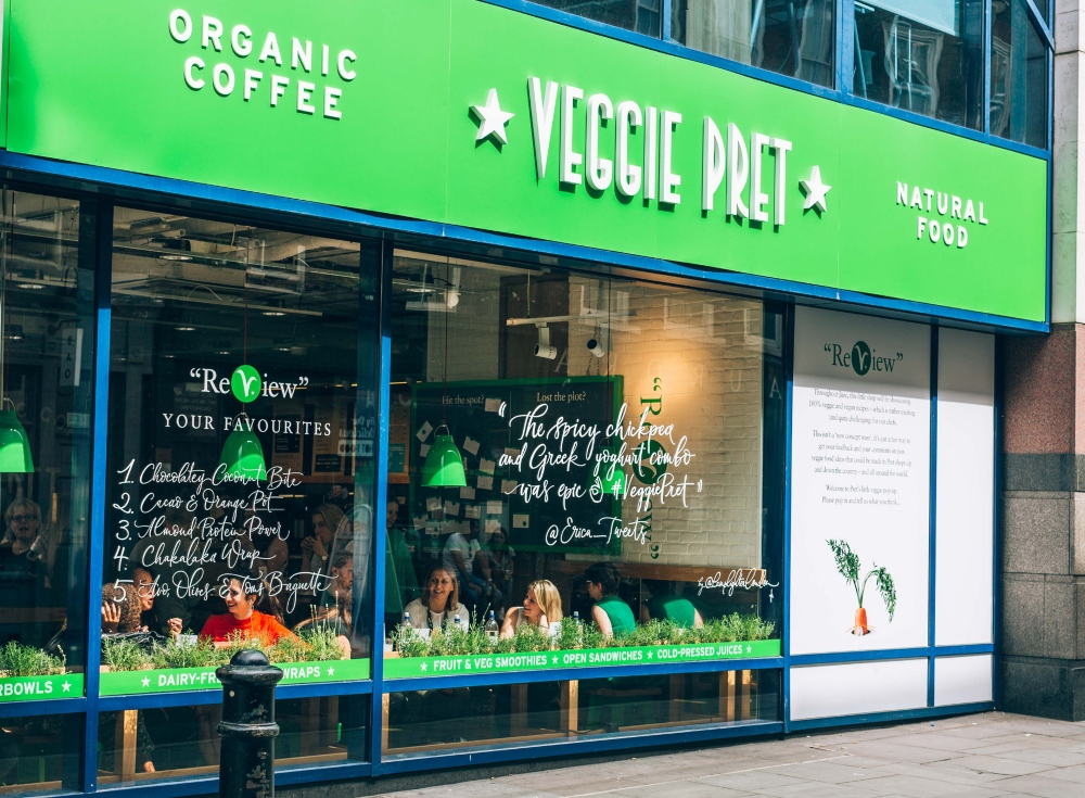 Pret a Manger 'To Buy Eat – And Turn 90 Stores Into Veggie & Vegan Outlets', Say Reports