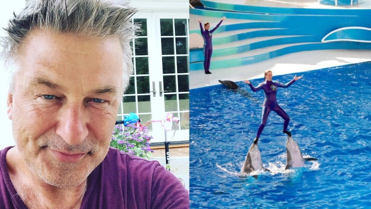 Alec Baldwin Challenges SeaWorld For Using Dolphins As 'Surfboards'
