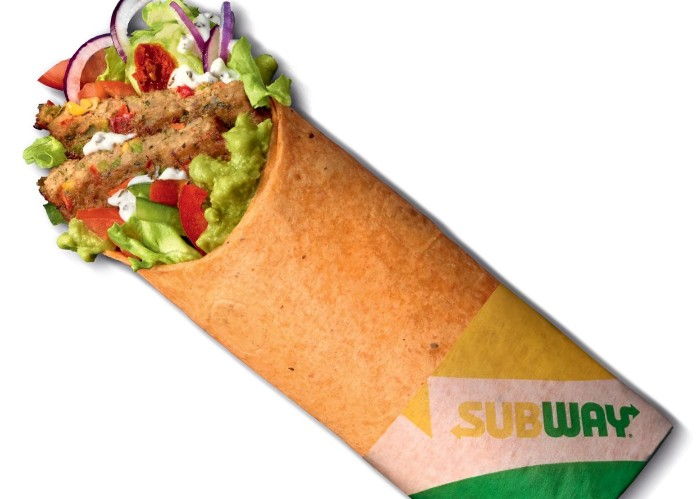 Subway Launches New 'Vegan Signature Loaded Wrap' In UK