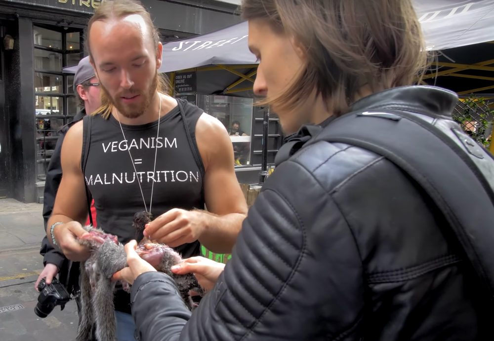 'Carnivore' YouTuber Sv3rige Fined For Eating Raw Squirrel In 'Vegan Protest'