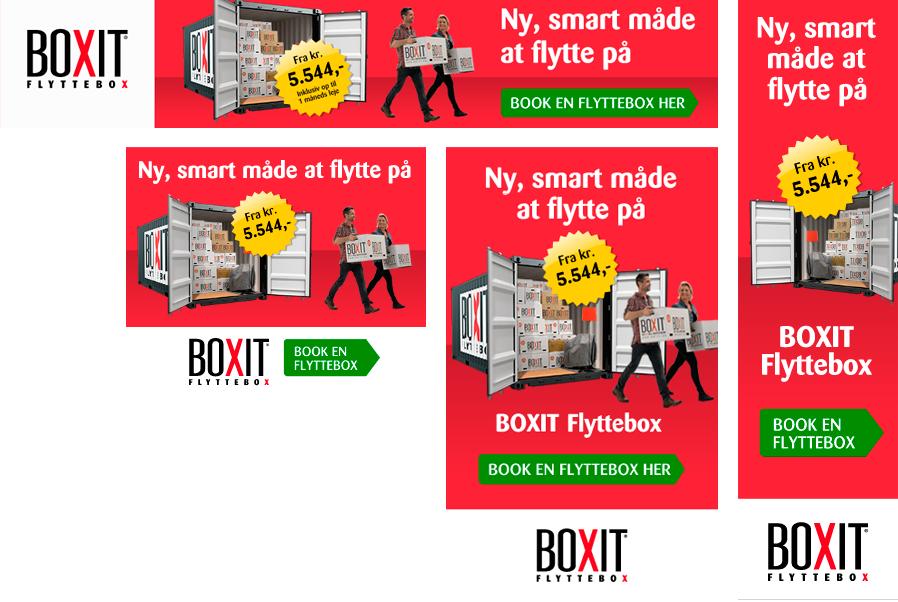 HTML5 online bannerproduktion til Boxit