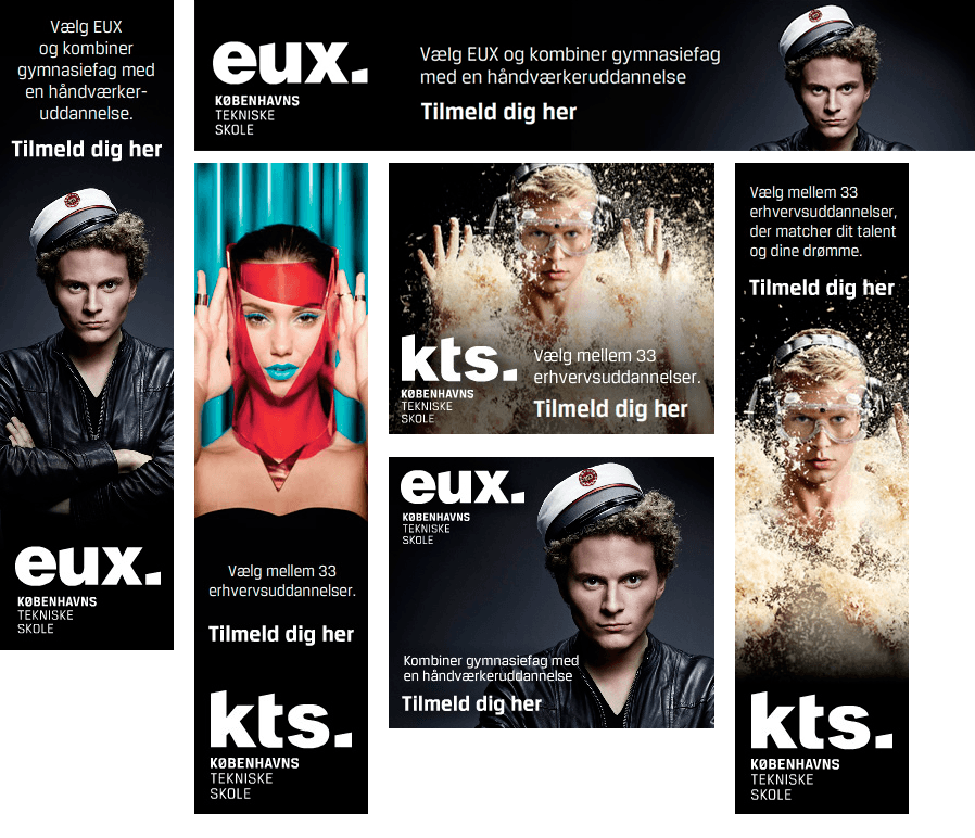 Bannerkampagne EUX og KTS