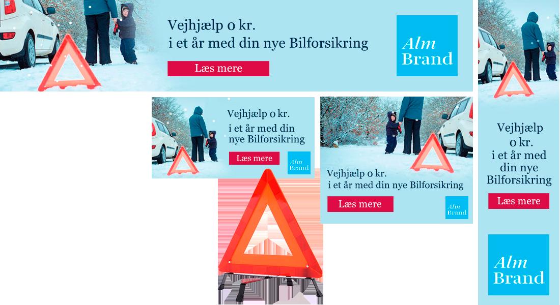 HTML5 banner - Alm brand