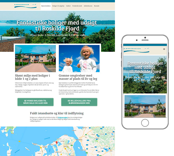 responsiv website i webflow
