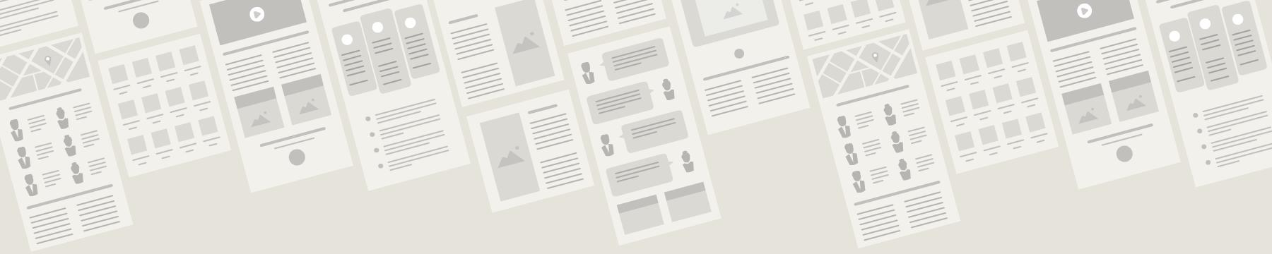 webdesign og struktur i alle former