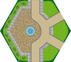 legemåtte Square fra GOHEXA