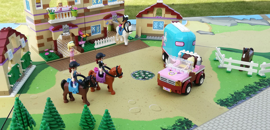 legemåtter til LEGO Friends