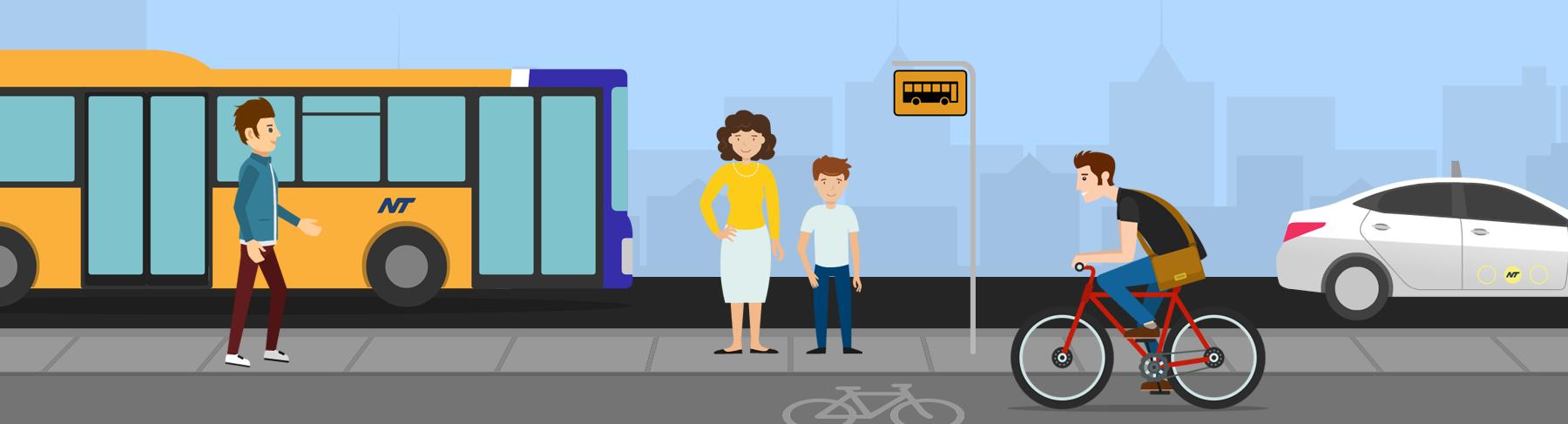 Infomercials til offentlige trafikselskaber