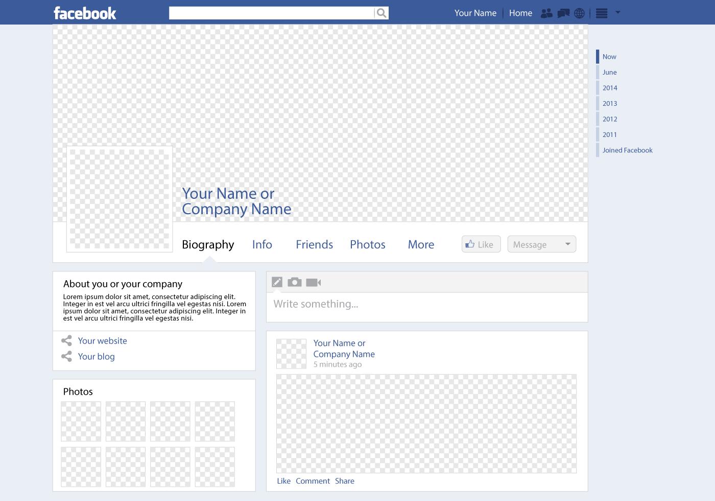 social-page-design-custom-header-content-profile